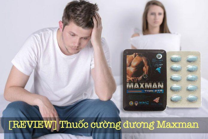 Hình ảnh thuốc cường dương Maxman